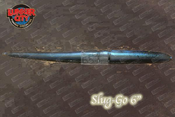 LUNKER CITY Slug-Go 6''