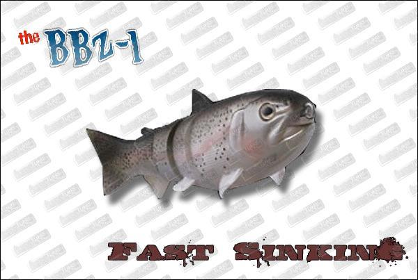 SPRO BBZ-1 Fast sinking 8''
