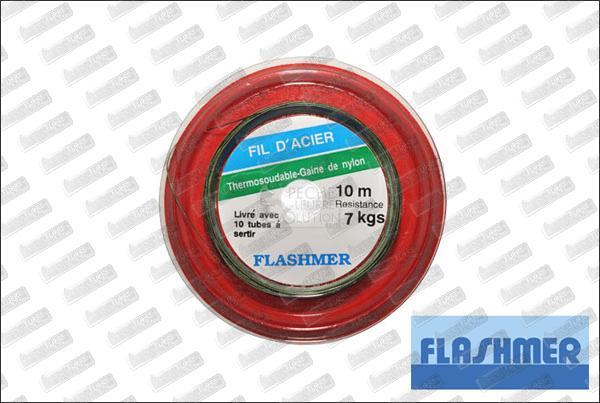 FLASHMER Fils d'acier Thermo soudable 10m