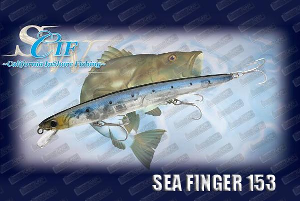 LUCKY CRAFT Sea Finger 153F Slim