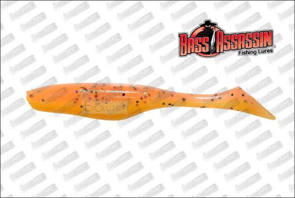 "BASS ASSASSIN Turbo Shad 4/"""