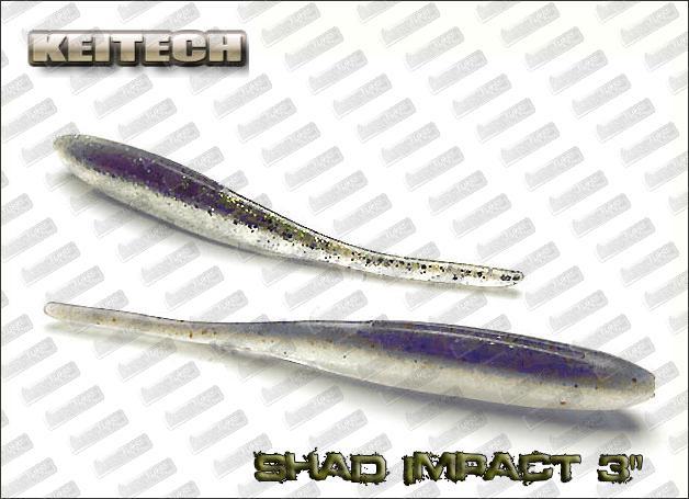 KEITECH Shad Impact 3''