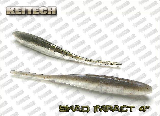 KEITECH Shad Impact 4''