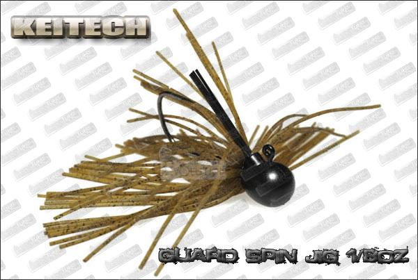 KEITECH Guard Spin jig 1/8oz