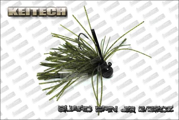 KEITECH Guard Spin jig 3/32oz