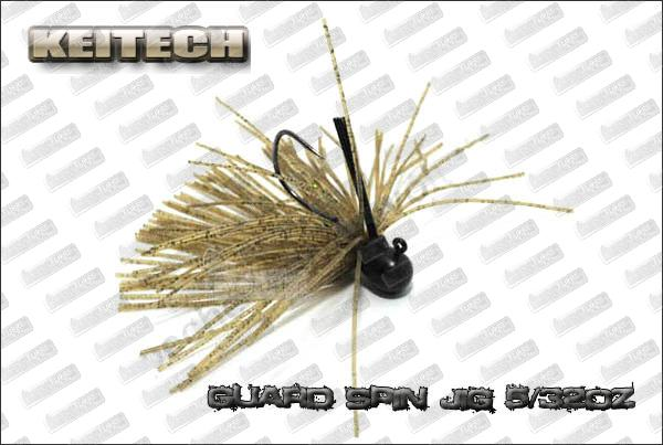 KEITECH Guard Spin jig 5/32oz
