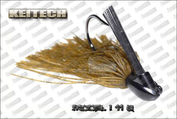 KEITECH Rubber jig Model I 3/8oz (11g)