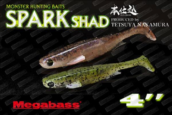 MEGABASS Spark Shad 4''