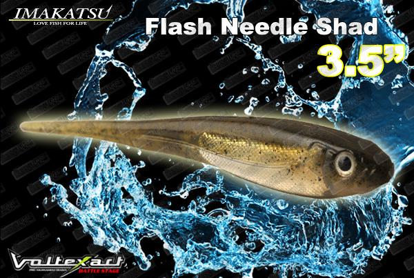 IMAKATSU Flash Needle Shad 3.5''