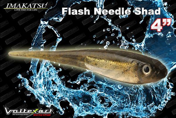 IMAKATSU Flash Needle Shad 4''