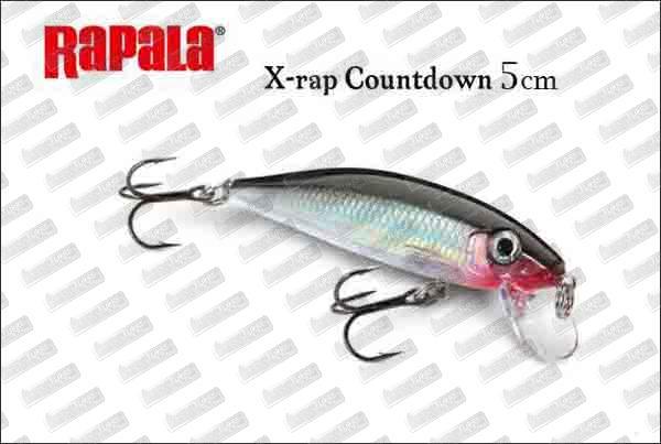 RAPALA X-Rap Countdown 5cm