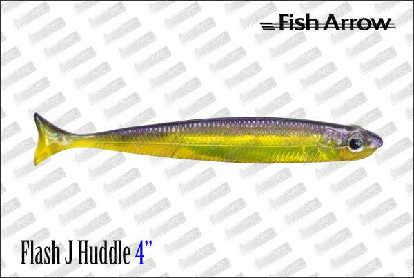 FISH ARROW Flash J Huddle 4''