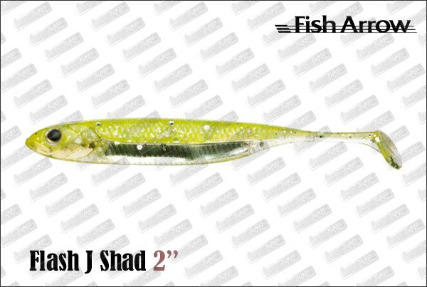 FISH ARROW Flash J Shad 2''