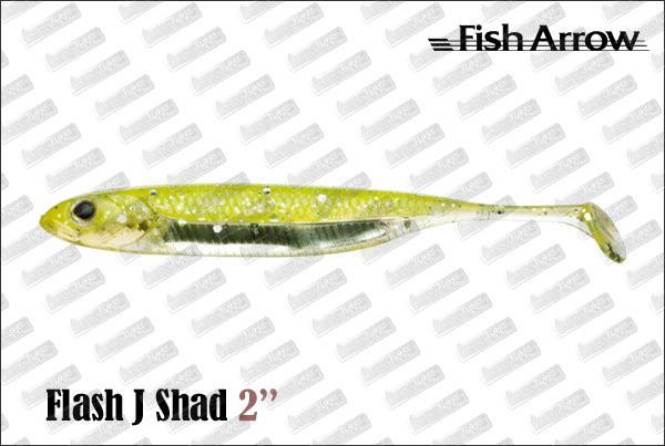 FISH ARROW Flash J Shad 2''