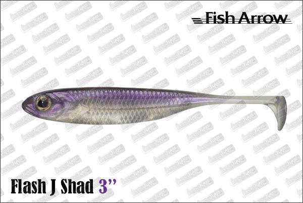FISH ARROW Flash J Shad 3''