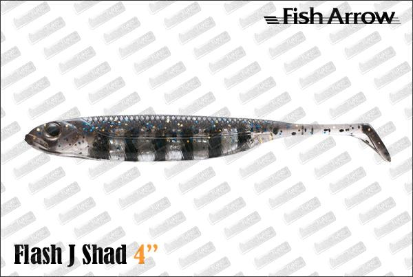 FISH ARROW Flash J Shad 4''