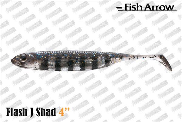 FISH ARROW Flash J Shad 4''