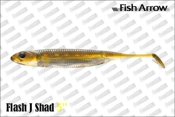 FISH ARROW Flash J Shad 5''