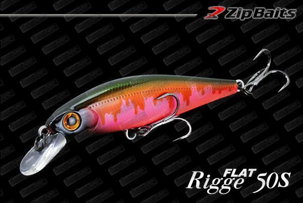 ZIP BAITS Rigge Flat 50S