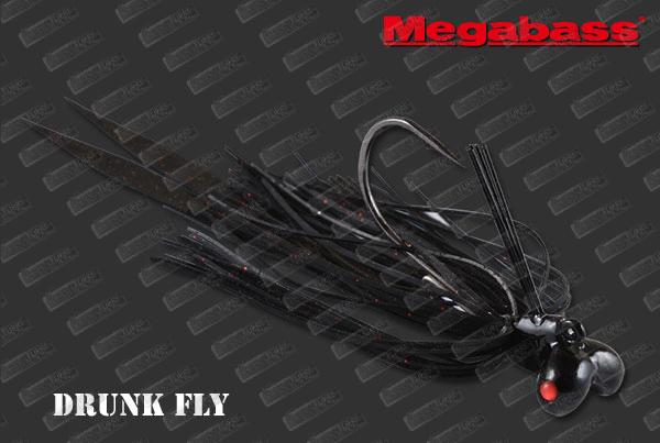 MEGABASS Drunk Fly