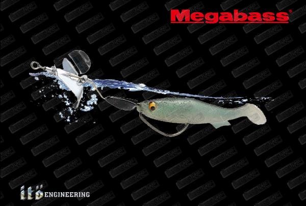 MEGABASS Renegade Blade Metal Prop