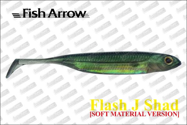 FISH ARROW Flash J Shad 3'' Soft Version