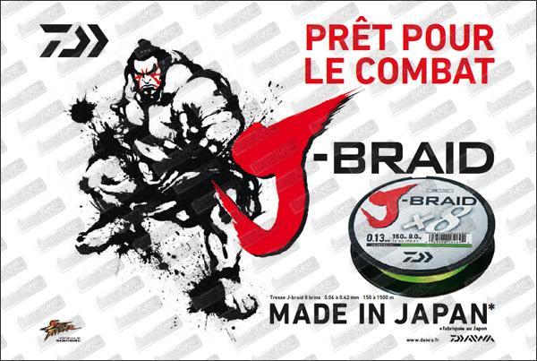 DAÏWA J Braid X8