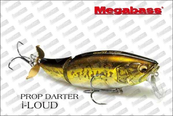 MEGABASS Prop Darter I-Loud