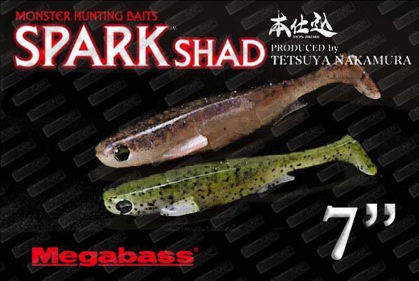 MEGABASS Spark Shad 7''