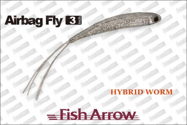 FISH ARROW Air Bag Fly 3''