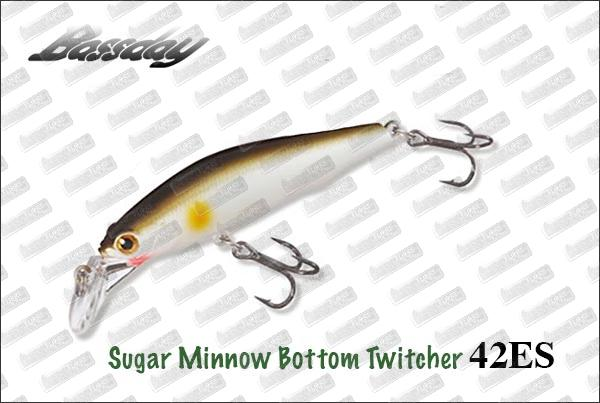 BASSDAY Sugar Minnow Bottom Twitcher 42ES