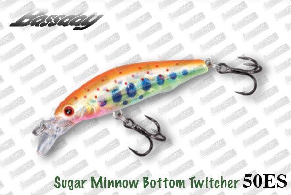 BASSDAY Sugar Minnow Bottom Twitcher 50ES