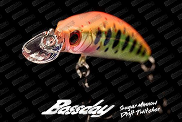 BASSDAY Sugar Minnow Drift Twitcher 50S