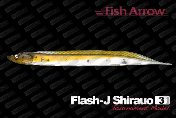 FISH ARROW Flash J Shirasu 3''