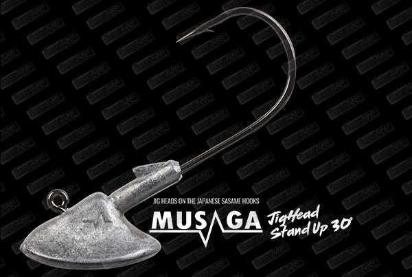 MUSAGA Jighead Stand Up 30°