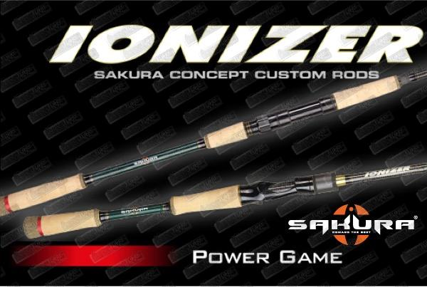 SAKURA Ionizer Power Game Baitcasting