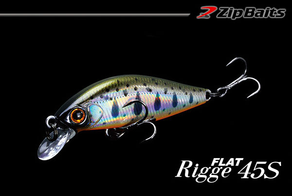 ZIP BAITS Rigge Flat 45S