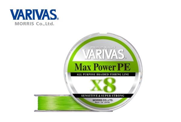 VARIVAS Max Power PE Tracer X8