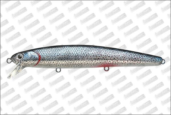 LUCKY CRAFT SW Flash minnow 110 SP Real Skin #BL-Aurora Black