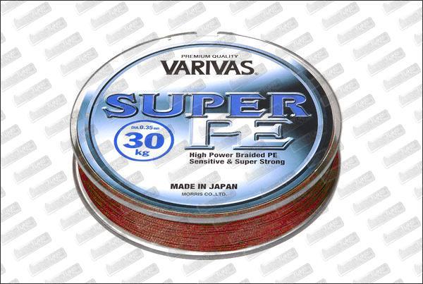 VARIVAS Super PE rouge Ø13 mm (7,5kg) 135m