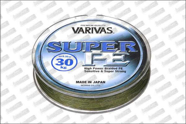 VARIVAS Super PE verte Ø30 mm (24kg) 270m