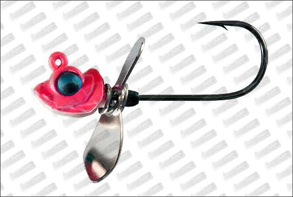 MEGABASS Okashira Screw Head 1/16oz 2/0 #Secret Pink