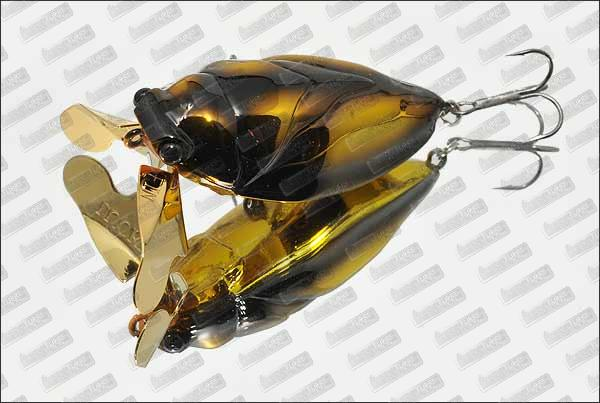 LUCKY CRAFT Water Bug #Gold