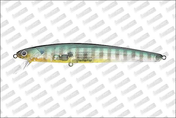 LUCKY CRAFT Flash Minnow 130 MR #Ghost Sunfish