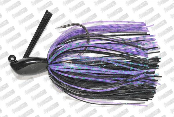 MEGABASS Survival Jig 3/4oz #06 Black Purple
