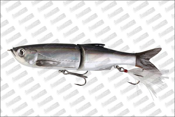 SAVAGE GEAR 3D Glide Swimmer 135 #01 Dirty Silver