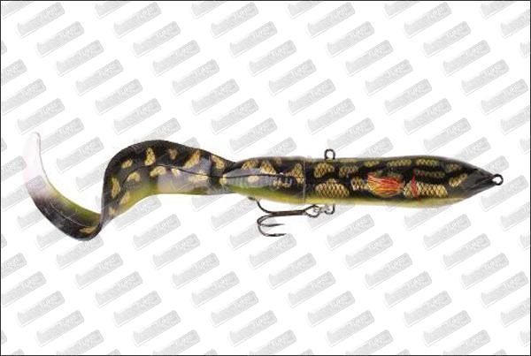 SAVAGE GEAR SG 3D Hard Eel Soft Tail 25cm - 109 g #06 Burbout