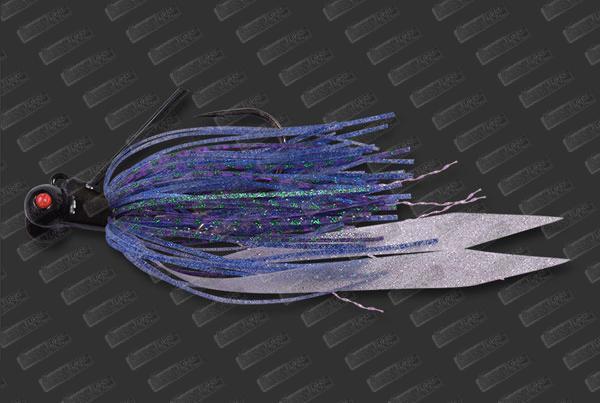 MEGABASS Drunk Fly 1/2oz #07 Pro Blue Reaction