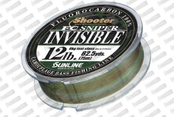 SUNLINE Shooter FC Sniper Invisible 12lb 75m