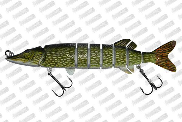 BONKERS LURE Devil Pike #Dark